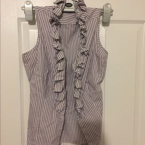 Limited halter ruffled blouse